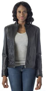 lamb leather biker style fashion jacket u2013 genuine leather coat