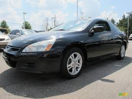 2006 black honda accord coupe 2006 nighthawk black pearl honda accord ex l coupe 63243470
