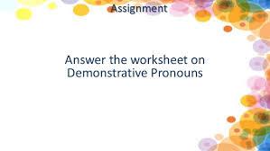 2nd qtr 1 demonstrative pronouns
