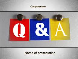 questions and answers powerpoint template backgrounds 10131
