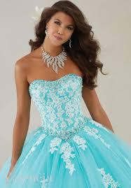 aqua quinceanera dresses tulle quinceanera dress style 89086 morilee