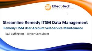 webinar self service bmc remedy itsm people data management