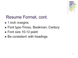 Resume Font Size 10 1 Senior Resumes 2 Agenda Purpose Learn Basic Format Of A Resume