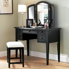 best lighting for vanity makeup table with square mirror and