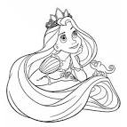 Rapunzel Coloring Pages | Coloring Kids