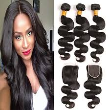 one hair extensions daiweier wave 4 bundles hair extensions real human