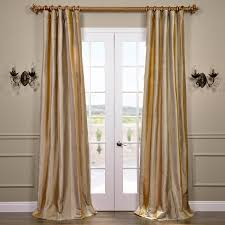 Black And Gold Drapes by Silk Striped Curtains And Drapes Half Price Drapes