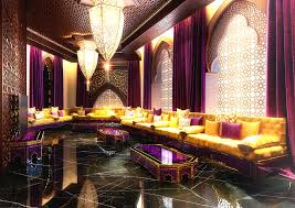 Seating Option Usmaan Mukhtar Moroccan Living Room In Doha