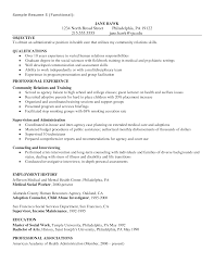 Mental Health Resumes Senior Social Worker Resume Samples Create My Resume Social