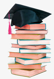 graduation books graduation books book graduation hat png and psd file for free