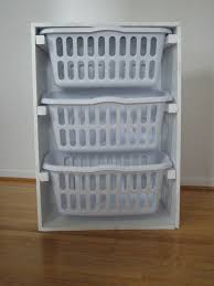 white laundry hampers ana white laundry basket organizer diy projects