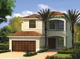 Four Car Garage House Plans This Two Story Mediterranean Waterfront Home Has Four Bedrooms