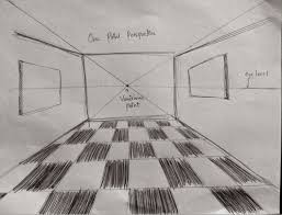perspective drawing art works