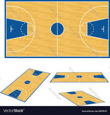 Basketball Court Floor Texture by Basketball Court Floor Plan Royalty Free Vector Image