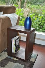How To Make A Wood End Table by Furniture Diy My Home
