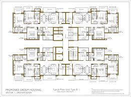 1800 sq ft floor plans ats rhapsody floor plan ats sector 1 noida floor plans