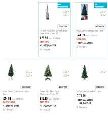 argos christmas trees highlights 2014 seasonal forum seasonal