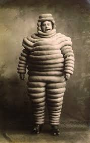 spooky vintage halloween mitch u0027s solution to disguising love handles vintage michelin man