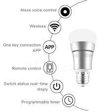 is there a black light app that works arilux e27 11w rgbw wifi timing app control led smart light bulb