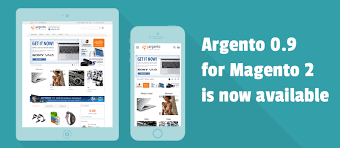 get latest 0 9 release of argento responsive template for magento