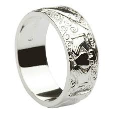 galway ring silver galway claddagh ring 6mm