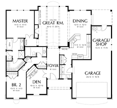 5 Bedroom Floor Plans 1 Story Rectangular House Design Ideas