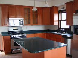 kitchen island interior ideas white marble countertops on