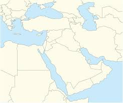 Middle East Map by Template Middle East Conflicts Detailed Map Wikipedia