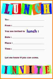 lunch invitations 8 lunch invite mac resume template