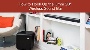 surroundbar 5000 instant home theater how to hook up the polk omni sb1 wireless sound bar youtube
