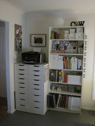 furniture simple white ikea billy bookcase with white nightstand