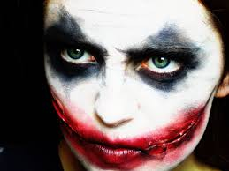 easy face makeup for halloween halloween joker makeup tutorial youtube