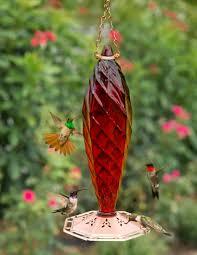 Jewel Box Window Hummingbird Feeder Duncraft Com Crystal Spiral Glass Hummingbird Feeder