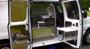 Campervan Toaster Plain Looking Camper Van Hides A Custom Interior