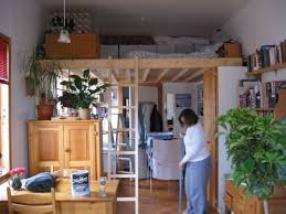Efficiency Apartment Ideas Small Studio Apartment Loft 16 Totally Feasible Loft Beds For