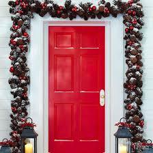 best 25 outdoor christmas garland ideas on pinterest porch