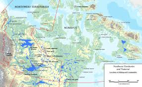 Map Of The Northwest Resources Nwt U0026 Nunavut Chamber Of Mines