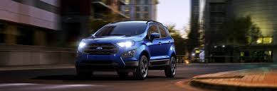 2018 ford ecosport compact suv style features ford com