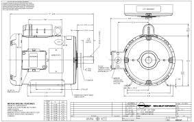 2 hp 1740 rpm 182t frame tefc farm duty 115 208 230 volts leeson
