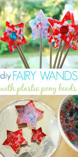 love these melted bead fairy wands picmia