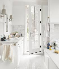 White Bathroom Ideas Decorating With White For Bathrooms - White bathroom design
