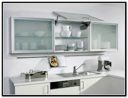 Glass Kitchen Cabinet Door Metal And Glass Kitchen Cabinet Doors Great Stylish Frosted