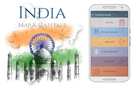 India Language Map by India Map U0026 Capitals Android Apps On Google Play