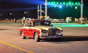 roll royce karachi vintage cars heavy bikes set off on cpec route as part of motor