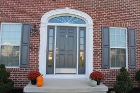 Paint Front Door Painted Front Door With Sidelights