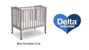 Delta Portable Mini Crib Delta Children S Mini Portable Crib Vignette