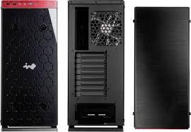 design pc gehã use tower pc gehäuse in win 805 design midi tower schwarz rot
