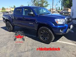 2013 toyota tacoma black rims tacoma on 18 havok road by versante rent a wheel rent a tire