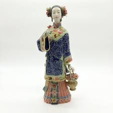 new home decor chinese ceramic statue collectibles glazed