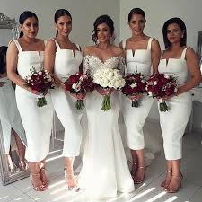 dresses for bridesmaids best 25 tea length bridesmaid dresses ideas on